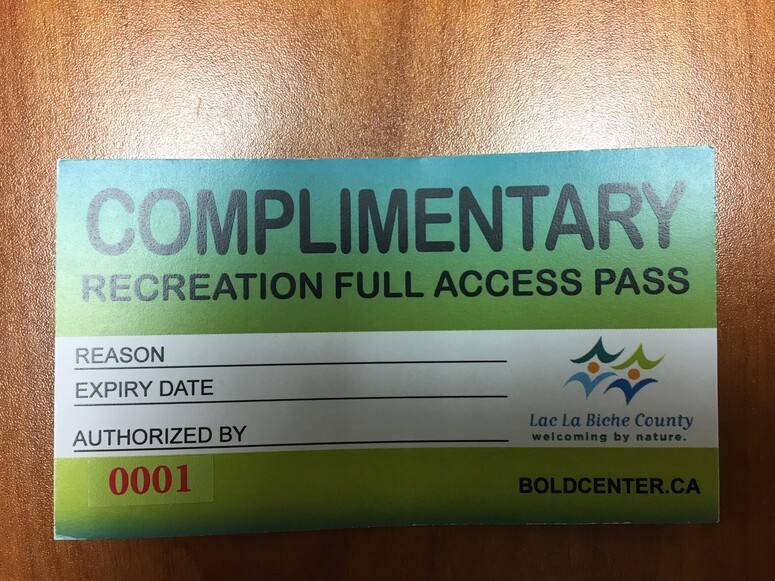 Photo of an all access pass